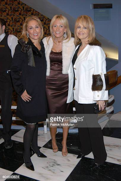 Susan Hess Pamela Gross and Claudia Cohen attend Avenue Magazine Celebrates A List 2006 with Screening of A Good Year at The Paris Theatre Le Cirque...