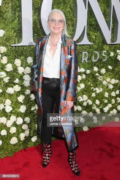Susan Hilferty attends the 2017 Tony Awards at Radio City Music Hall on June 11 2017 in New York City