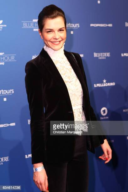 Susan Hoecke attends the Blue Hour Reception hosted by ARD during the 67th Berlinale International Film Festival Berlin on February 10 2017 in Berlin...