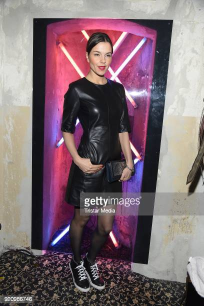 Susan Hoecke during the Pantaflix Panta Party on February 19 2018 in Berlin Germany