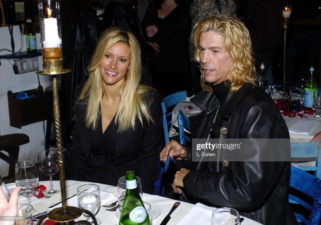 Susan Holmes and Duff McKagan. Scott Weiland of Velvet Revolver and guests celebrate his birthday at a surprise party thrown by wife Mary Weiland The party was held in the midst of the band's U.S. concert tour in support of their platinum Contraband album.