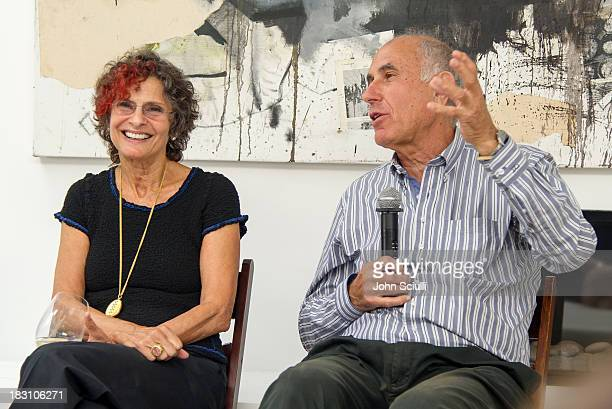 Susan Hort and Michael Hort attend the Rema Hort Mann Foundation conversation with Susan and Michael Hort on September 28 2013 in Los Angeles...