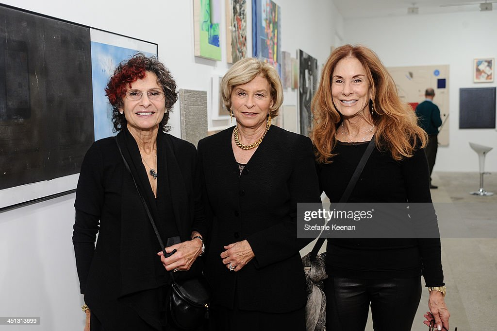 Susan Hort, Gail Hollander and Pamerla Robinson attend The Rema Hort Mann Foundation LA Artist Initiative Benefit Auction on November 21, 2013 in Los Angeles, California.