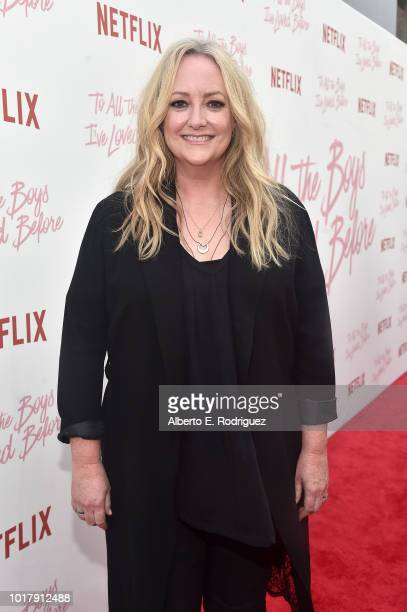 Susan Johnson attends a screening of Netflix's 'To All The Boys I've Loved Before' at Arclight Cinemas Culver City on August 16 2018 in Culver City...
