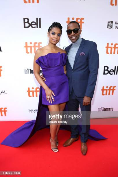 Susan Kelechi Watson and guest attend the A Beautiful Day In The Neighborhood premiere during the 2019 Toronto International Film Festival at Roy...