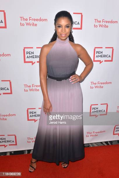 Susan Kelechi Watson arrives at Pen America's 2019 Litfest Gala at the Beverly Wilshire Four Seasons Hotel on November 01 2019 in Beverly Hills...