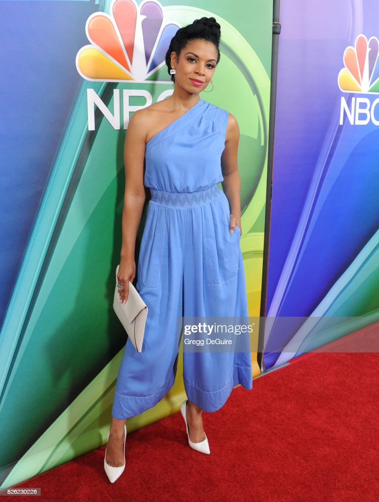 Susan Kelechi Watson arrives at the 2017 Summer TCA Tour - NBC Press Tour at The Beverly Hilton Hotel on August 3, 2017 in Beverly Hills, California.