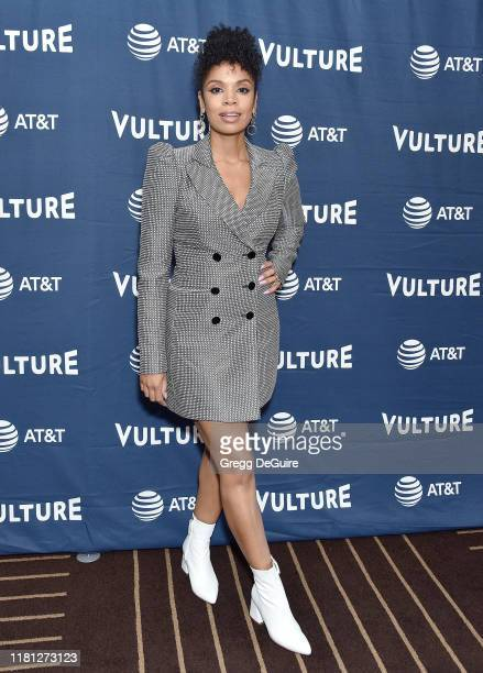 Susan Kelechi Watson arrives at the Vulture Festival Los Angeles 2019 Day 1 at Hollywood Roosevelt Hotel on November 9 2019 in Hollywood California