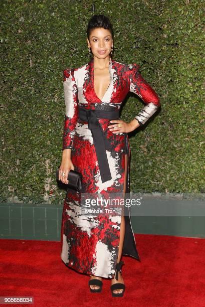 Susan Kelechi Watson arrives to the 49th NAACP Image Awards held at Pasadena Civic Auditorium on January 15 2018 in Pasadena California