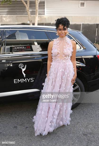 Susan Kelechi Watson arrives to The 69th Primetime Creative Arts Emmy Awards Celebrated by Audi on September 9 2017 in Los Angeles California