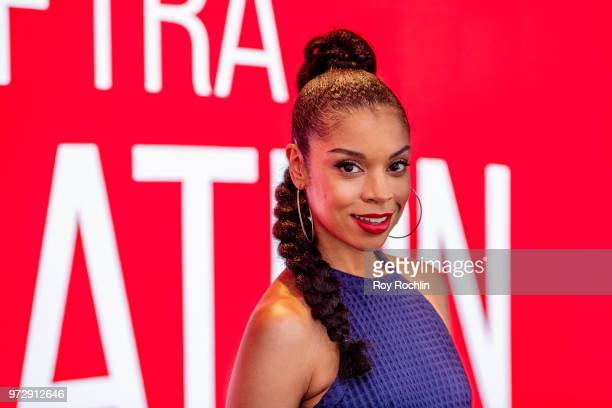 Susan Kelechi Watson attends SAGAFTRA Foundation Conversations 'This Is Us' at The Robin Williams Center on June 12 2018 in New York City