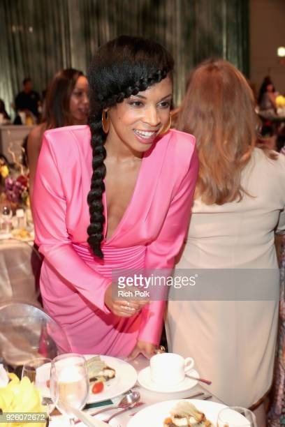 Susan Kelechi Watson attends the 2018 Essence Black Women In Hollywood Oscars Luncheon at Regent Beverly Wilshire Hotel on March 1 2018 in Beverly...