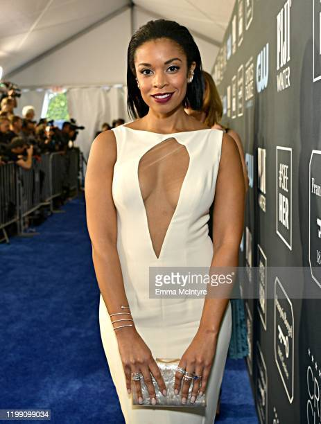 Susan Kelechi Watson attends the 25th Annual Critics' Choice Awards at Barker Hangar on January 12, 2020 in Santa Monica, California.