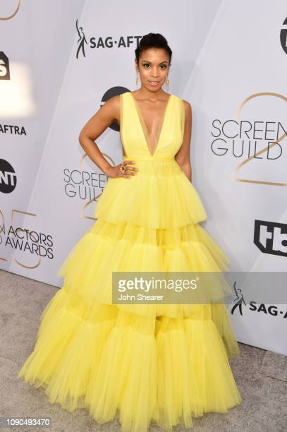 Susan Kelechi Watson attends the 25th Annual Screen ActorsGuild Awards at The Shrine Auditorium on January 27 2019 in Los Angeles California