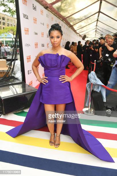 Susan Kelechi Watson attends the A Beautiful Day In The Neighborhood premiere during the 2019 Toronto International Film Festival at Roy Thomson Hall...
