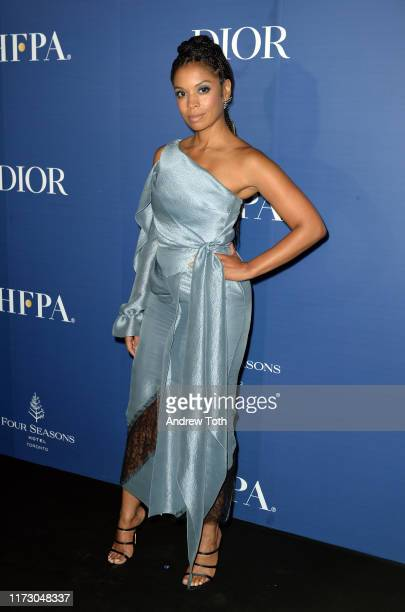 Susan Kelechi Watson attends The Hollywood Foreign Press Association and The Hollywood Reporter party at the 2019 Toronto International Film Festival...