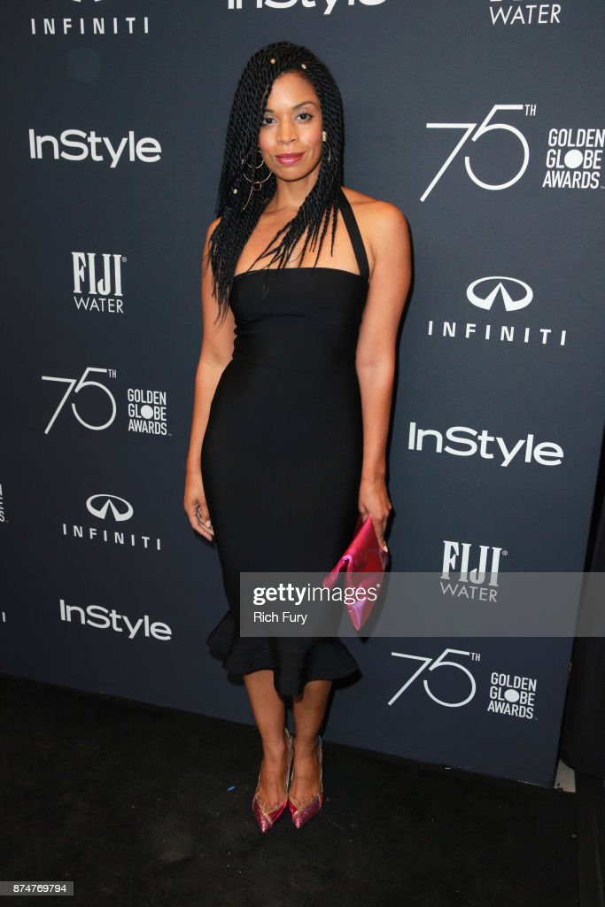 Susan Kelechi Watson attends the Hollywood Foreign Press Association and InStyle celebrate the 75th Anniversary of The Golden Globe Awards at Catch LA on November 15, 2017 in West Hollywood, California.