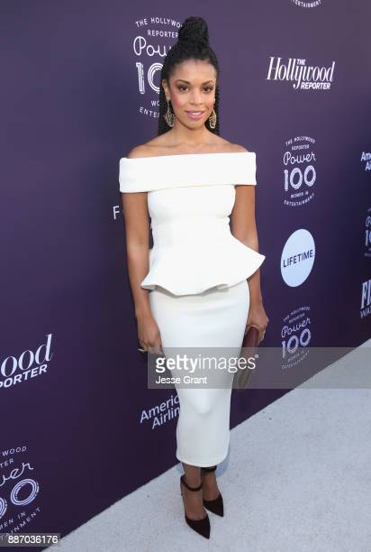 Susan Kelechi Watson attends The Hollywood Reporter's 2017 Women In Entertainment Breakfast at Milk Studios on December 6 2017 in Los Angeles...