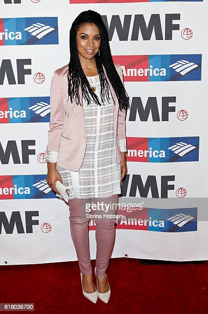 Susan Kelechi Watson attends the International Women's Media Foundation 27th annual Courage In Journalism Awards at the Beverly Wilshire Four Seasons...