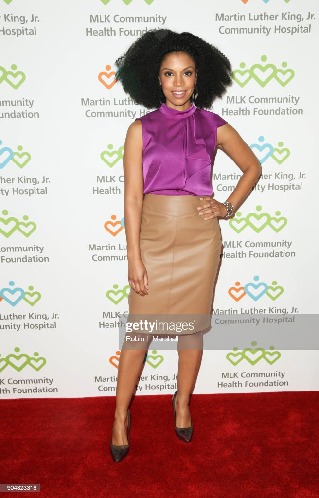 Susan Kelechi Watson attends the MLK Community Health Foundation's 'Sharing The Dream' Luncheon at Dorothy Chandler Pavilion on January 12, 2018 in Los Angeles, California.