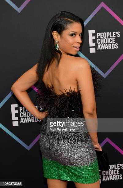 Susan Kelechi Watson attends the People's Choice Awards 2018 at Barker Hangar on November 11 2018 in Santa Monica California
