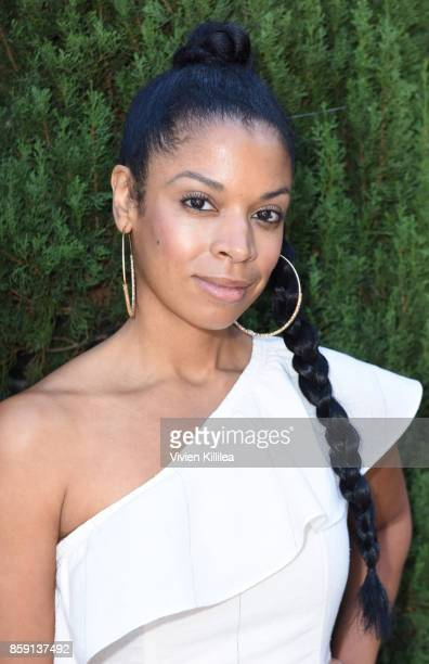 Susan Kelechi Watson attends The Rape Foundation's Annual Brunch on October 8 2017 in Beverly Hills California