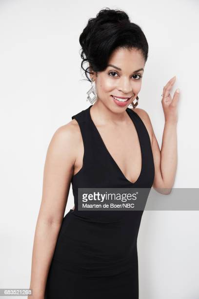 Susan Kelechi Watson of 'This is Us' poses for a photo during NBCUniversal Upfront Events Season 2017 Portraits Session at Ritz Carlton Hotel on May...