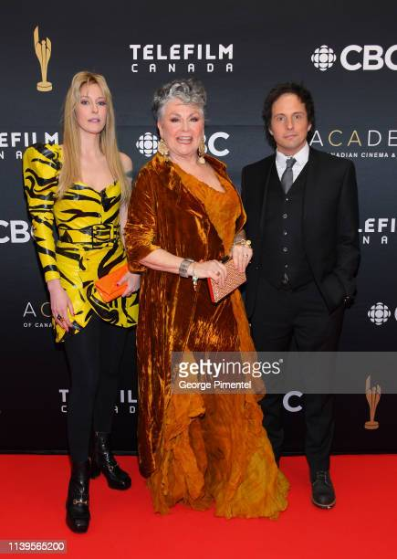 Susan Kent Mary Walsh and Jonny Harris attend the 2019 Canadian Screen Awards Broadcast Gala at Sony Centre for the Performing Arts on March 31 2019...