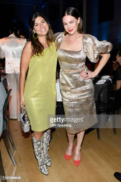 Susan Korn and Alison Roman attend The Bloomberg 50 Celebration at The Morgan Library on December 09 2019 in New York City