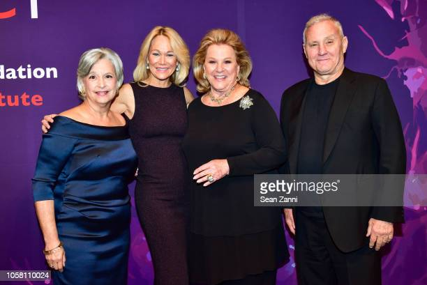 Susan L Solomon Karin Denoyer Carol Roaman and Ian Schrager attend The NYSCF Gala And Science Fair at Jazz at Lincoln Center on October 16 2018 in...