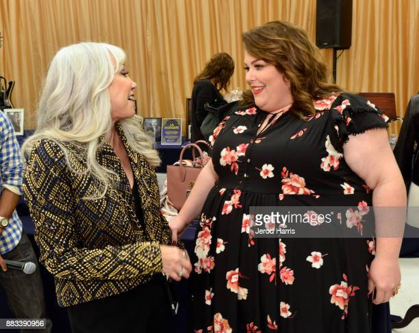 Susan Leibsohn and Chrissy Metz attend the Dress For Success WorldwideWest Seventh Annual Shop For Success Vip Event In Los Angeles on November 30...