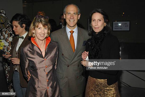 Susan Lowry Glenn Lowry and Carol Vogel attend CALVIN KLEIN COLLECTION First Look of THE NEW MUSEUM on The BOWERY at The New Museum on The Bowery on...