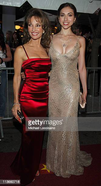 Susan Lucci and Eden Riegel during 32nd Annual Daytime Emmy Awards Arrivals at Radio City Music Hall in New York City New York United States