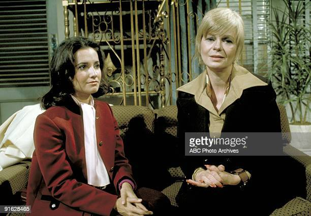 Susan Lucci and Eileen Letchworth in a scene on ABC Daytime's 'All My Children' 'All My Children' airs MondayFriday 12 pm ET on the ABC Television...