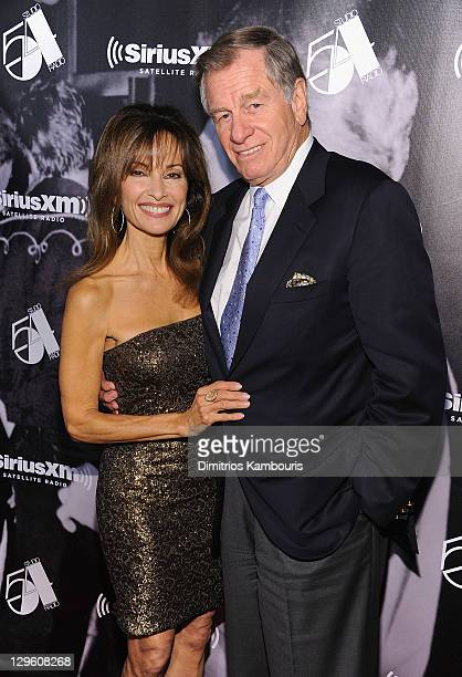 Susan Lucci and Helmut Huber attend SiriusXM's 'One Night Only' at Studio 54 on October 18 2011 in New York City