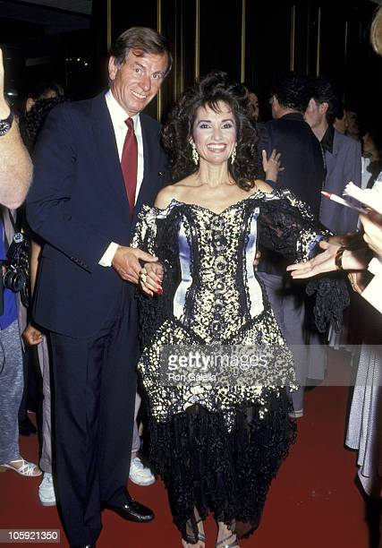 Susan Lucci and Helmut Huber during 14th Annual Daytime Emmy Awards at Sheraton Center in New York City New York United States