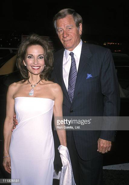 Susan Lucci and Helmut Huber during Essex House Concert For Peace Gala at Carnegie Hall in New York City New York United States