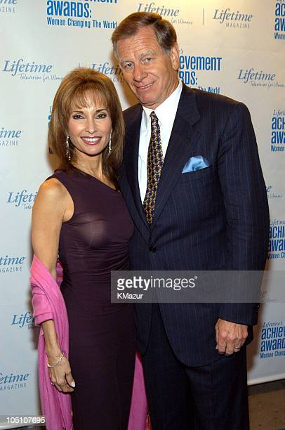 Susan Lucci and Helmut Huber during Lifetime's Achievement Awards Women Changing the World Arrivals at Manhattan Center in New York City New York...