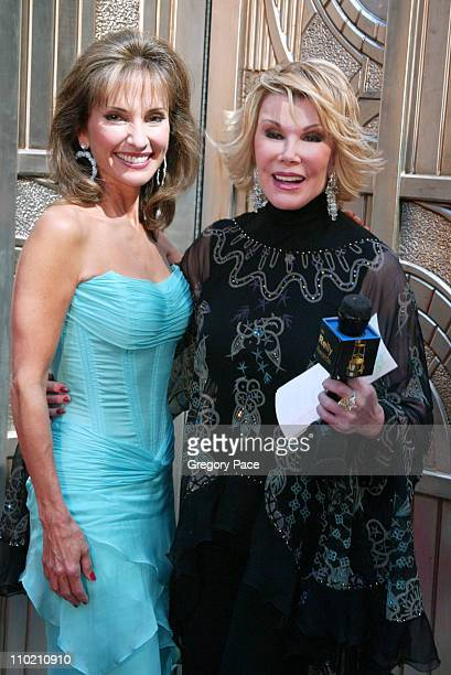 Susan Lucci and Joan Rivers during Regis Philbin and Kelly Ripa Host the Second Annual Relly Awards on 'LIVE with Regis and Kelly' at ABCTV Studios...