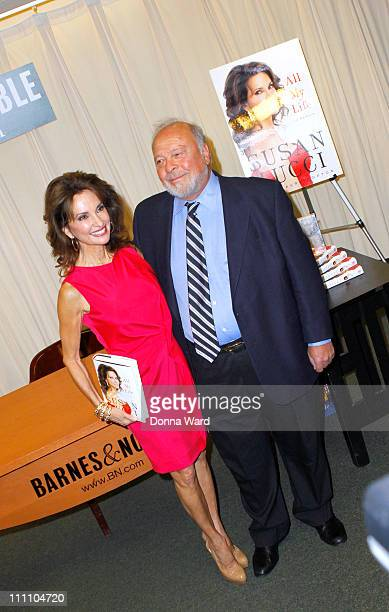 Susan Lucci and Nelson DeMille sign copies of All My Life A Memoir at Barnes Noble 5th Avenue on March 29 2011 in New York City