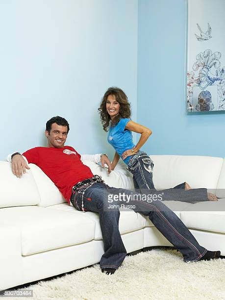 Susan Lucci and Tony Dovolani