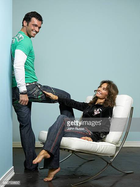 Susan Lucci and Tony Dovolani