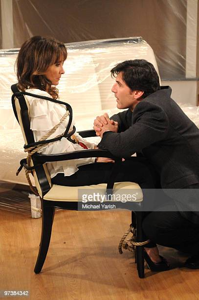 CHILDREN Susan Lucci and Vincent Irizarry in a scene that airs the week of March 1 2010 on ABC Daytime's 'All My Children' 'All My Children' airs...
