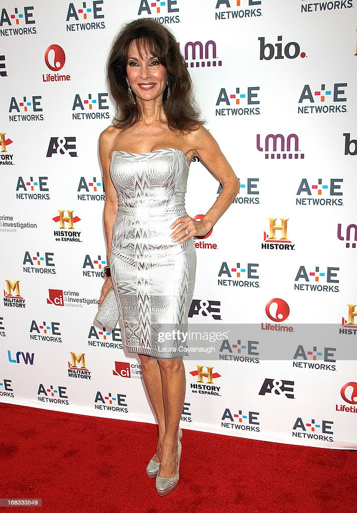 Susan Lucci attends A&E Networks 2013 Upfront at Lincoln Center on May 8, 2013 in New York City.