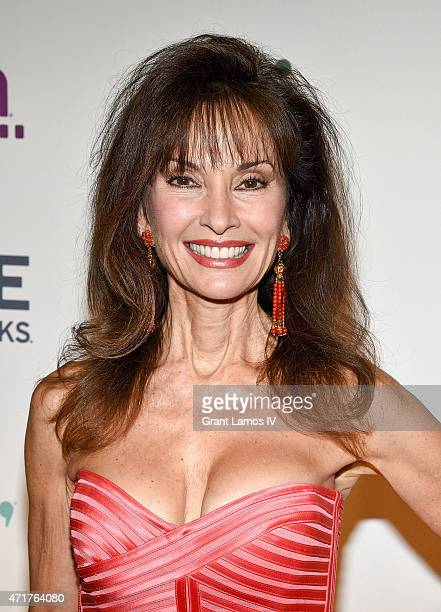 Susan Lucci attends the 2015 AE Networks Upfront on April 30 2015 in New York City