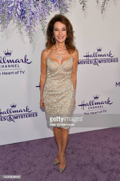 Susan Lucci attends the 2018 Hallmark Channel Summer TCA at Private Residence on July 26 2018 in Beverly Hills California