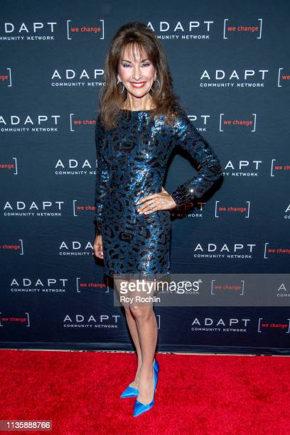 Susan Lucci attends the 2019 Adapt Leadership Awards at Cipriani 42nd Street on March 14 2019 in New York City