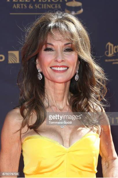 Susan Lucci attends the 44th Annual Daytime Emmy Awards at Pasadena Civic Auditorium on April 30 2017 in Pasadena California