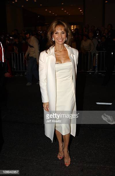 Susan Lucci during 2002 VH1 Vogue Fashion Awards Arrivals at Radio City Music Hall in New York City New York United States