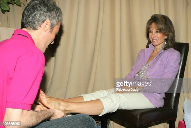 Susan Lucci during 33rd Annual Daytime Emmy Awards Gift Suite Day 1 in Los Angeles California United States